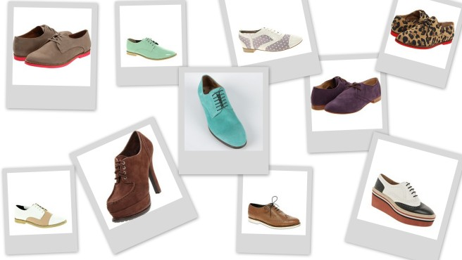 Fun Oxfords
