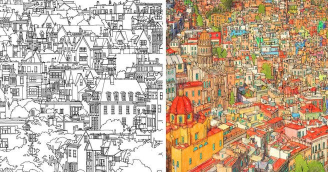 coloring-book-adults-fantastic-cities-steve-mcdonald-fb
